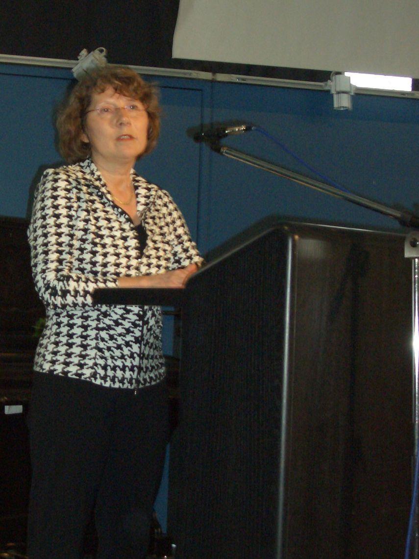 Margitta Degener - 1. Vorsitzende Horizonte Göttingen e.V.